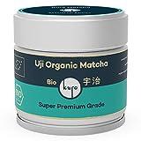 Uji Bio Matcha von Kuro - Handgepflückter Super Premium Bio-Matcha-Tee aus Japan (30g) - Extrafeines Grüntee-Pulver bio-zertifiziert nach DE-ÖKO-006