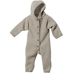 Disana 36110XX - Walk-Overall Wolle grau, Size / Größe:74/80 (6-12 Monate)