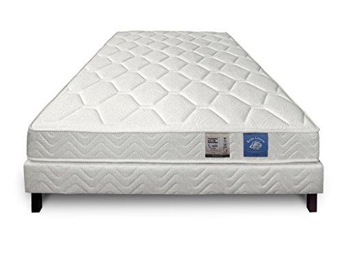 Je veux un lit Ensemble Matelas 486 Ressorts ensachés HIGO + sommier 140 x 190 cm 23
