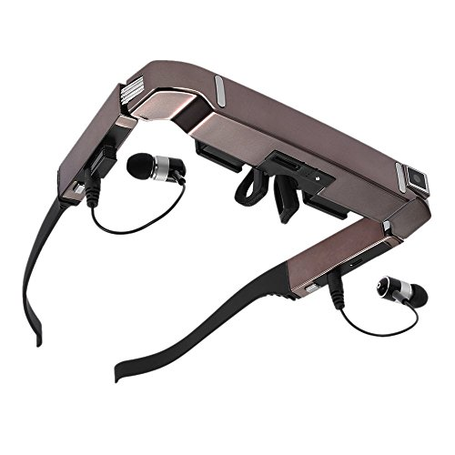VISION-800 Smart Android WiFi Glasses 80 Inch Virtual Wide Screen Video Glasses Portable 3D Glasses...