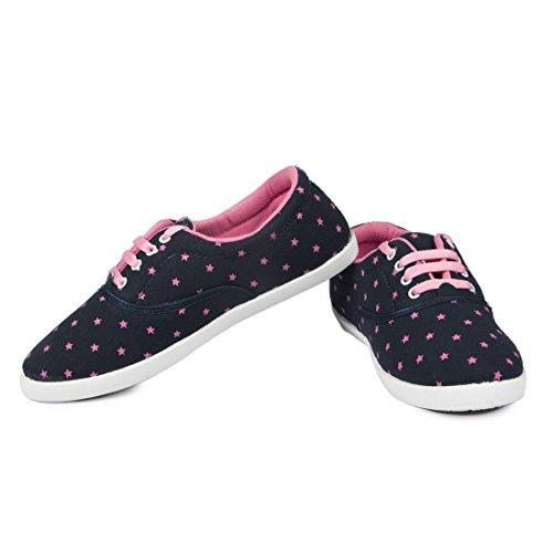 Asian Shoes Women's Mesh Combo Of 2 Casual Shoes 5