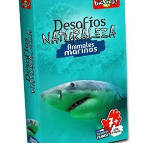 Bioviva- Juego de cartas Desafíos Naturaleza Animales Marinos (Asmodee 306) , color/modelo surtido