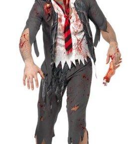 Smiffy's - Disfraz de colegial para halloween adultos, talla S (AMZ0049 S)