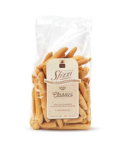 Panificio Zorzi - Mini Grissini Sfizzi Classici con olio extravergine di oliva - pacco 8 confezioni da 200 g