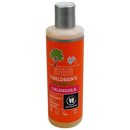 URTEKRAM - Champú para Bebés Suavizante con Caléndula - 100% Natural - Para Cabellos Suave y Perfumado - 250 ml