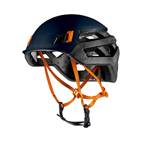 Mammut Wall Rider Casco de Escalada, Unisex Adulto, Azul (Night), 52-57 cm