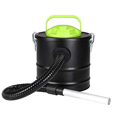 Aspiracenere Aspirapolvere Bidone 500w con Soffiatore ideale per Pulire Camini Stufe Pellet Capacita...