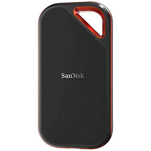 SanDisk Extreme PRO SSD Portatile 500 GB, Velocità di Lettura fino a 1050 MB/s, USB-C, Resistente e...