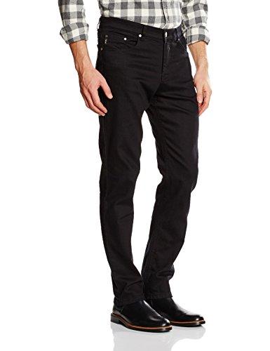 Brax-Herren-Gerades-Bein-Jeanshose-Cooper-Denim-Schwarz-Perma-Black-1-W36L32