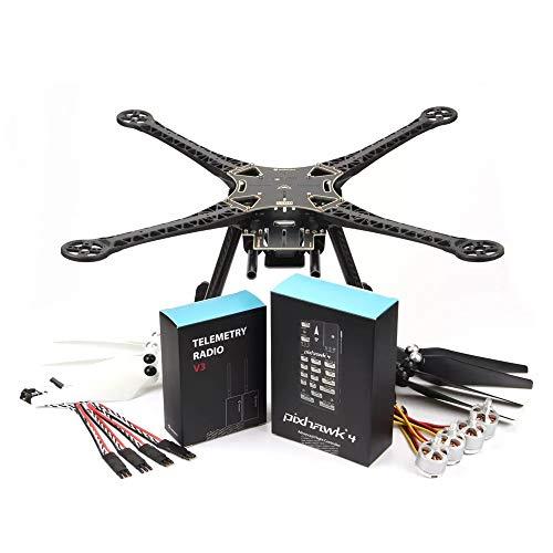 DishyKooker Holy-Bro PIX-Hawk 4 S500 Kit 480mm Interasse RC Quadricottero RC Drone W / PIX-Hawk 4 Pilota Automatico 433Mhz