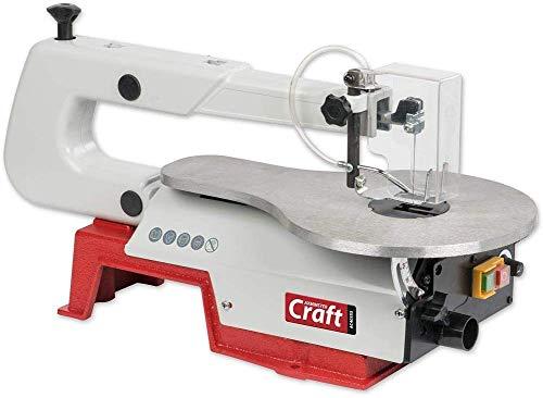 Axminster AC405SS Craft Scroll Saw - Red, 50mm deep
