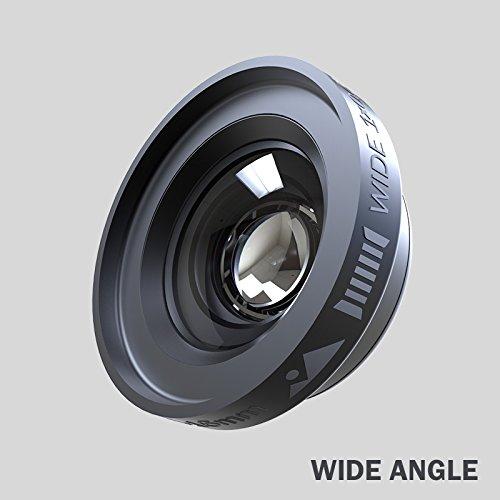 Dreamgrip Visio Pro Ultra Faible Distorsion Ensemble de lentille pour n'importe Quel Smartphone Téléphone Objectif de Fixation 24