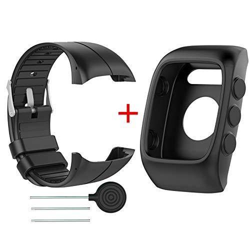 X-Best Custodia per Polar M400/M430, Accessorio in TPU di Cinturino da Polso Band Sostituzione del Cinturino per Polar M400 M430 GPS Running Smart Orologio Sportivo Cinturino da Polso