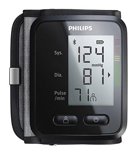 Philips DL8765/15 Polso Misuratore di Pressione Sanguigna Automatico, Connettività Bluetooth