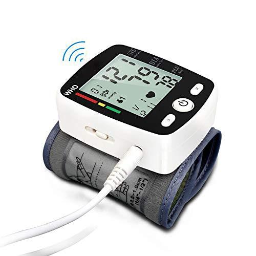 ZUEN Manicotto elettronico per la misurazione della Pressione del Polso Automatico da Polso USB,...