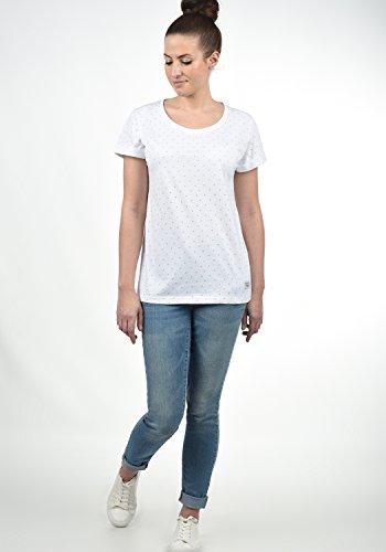 DESIRES Starlet Damen T-Shirt Kurzarm Shirt mit Print und Rundhalsausschnitt Aus 100% Baumwolle, Größe:XS, Farbe:Light Grey (2325) - 3