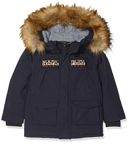NAPAPIJRI Skidoo Open Jacke Giacca, Blu (Blu Marine 176), 158 (Taglia Produttore: 14) Bambino
