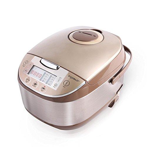 Aigostar Golden Lion 30HGY - Multicooker Pentola Cuociriso, 11 funzioni programmabili con Pannello...