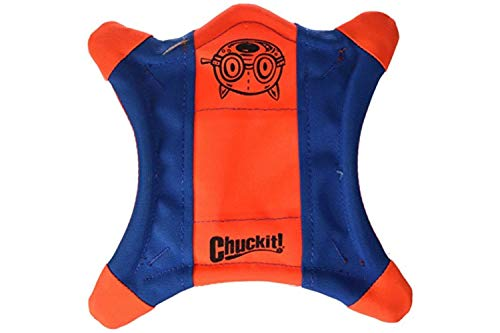 Chuckit! 0511300 Flying Squirrel Juguete de Perros, Frisbee Flotando y Revoloteando, M