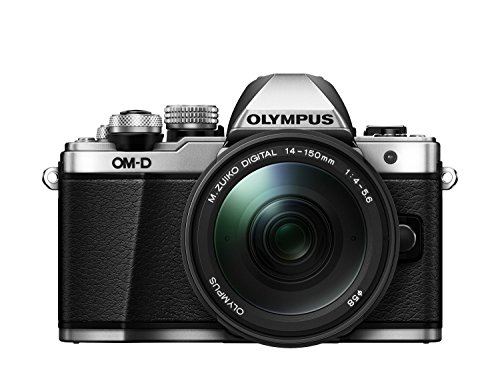 Olympus OM-D E-M10 Mark II + M.ZUIKO DIGITAL EZ-M14-150R MILC 16,1 MP 4/3' Live MOS 4608 x 3456 Pixel Argento