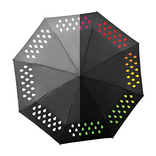 SUCK UK Farbwechsel-Regenschirm