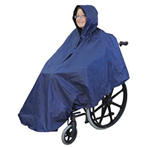Poncho para silla de ruedas