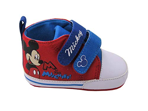 ARNETTA Scarpina Neonato con Antiscivolo Mickey Mouse (15)