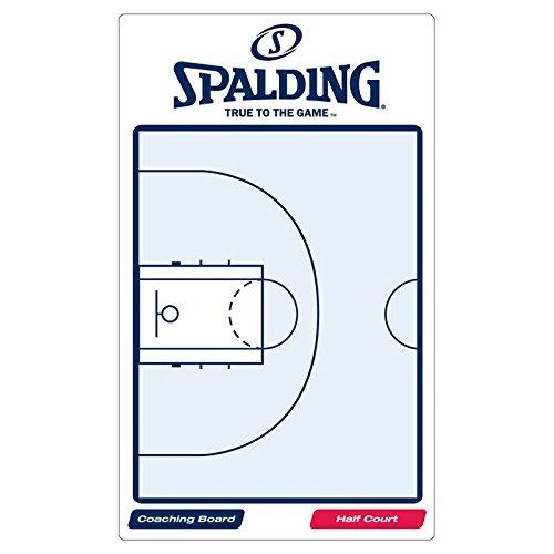 Spalding, Lavagna tattica da basket, Bianco (weiß/blau), taglia unica