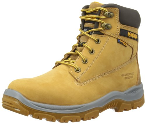 We would recommend these for people who work for a few hours a day so that breathability is not a large problem. Those who need breathability and 100% waterproof abilities may have to settle for the VTech V12 Tomahawk V1250 Waterproof Rigger Boots Steel Toecap & Midsole Size 13 or the Dr. Martens Men's Icon Holkham ST Safety Boots.