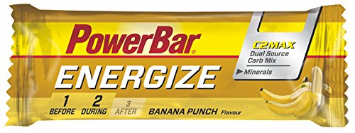 Barrita Energética Energize PowerBar 12 x 55g Plátano