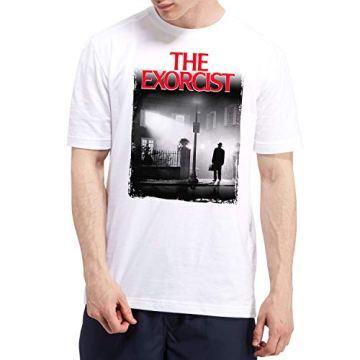 DibuNaif Camiseta Hombre - Unisex Cine El Exorcista 3