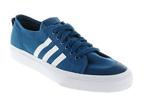 9509a702ebab5e Adidas Nizza Lo Classic 78 Mens Boys Trainer Blue White - Trainer Freaks