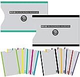 [Set A 12] Protecteur de carte Porte-monnaie ANTI-RFID Kit carte Carte de crédit Protection de la sécurité Paiement Contact Carte d'identité Carte Bleue Permis de conduire - Chiffres
