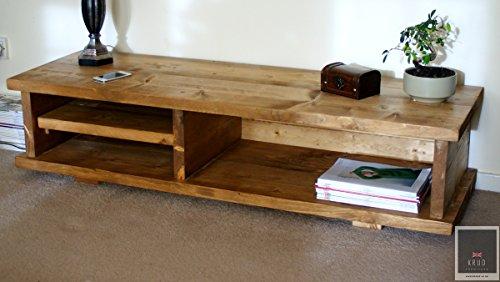 Krud ~ K7-140cm-colori stile vittoriano-TV stand ~ ~ fatto a mano in legno massiccio...