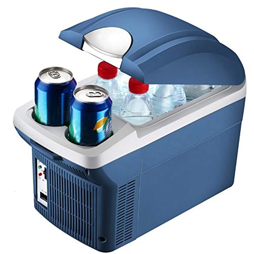 ckground 8L Auto Frigorifero per Auto Mini congelatore Portatile Frigorifero congelatore Scatola di...