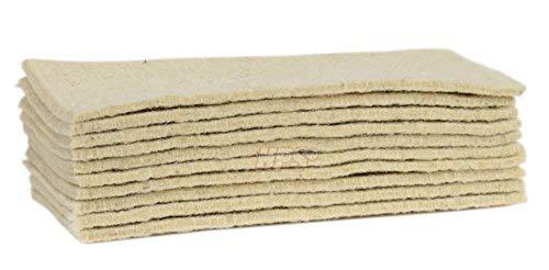 HPS – 10 panni in morbidissima lana di pecora – accessorio per la cura del pavimento, per...