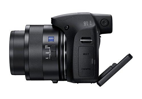 Sony DSC-HX350 - Cámara bridge (zoom 50x, sensor retroiluminado CMOS de 20.4 megapíxel, BionZ X y modo AF avanzado) color negro