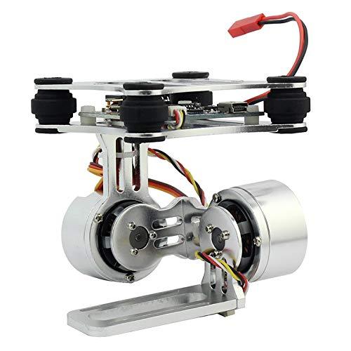 Generic Aluminum 2-Axle Brushless Gimbal Camera Mount Controller Plug&Play for DIY Drone Quadcopter Trex 500 550 Aircraft