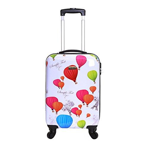 Karabar Dewberry 55 cm bagaglio a mano rigida, Bianca