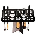 CkeyiN-Oraganizador Maquillaje ,Organizador de Cosméticos ,Secador Profesional para Pinceles y Brochas de Maquillaje (Negro)