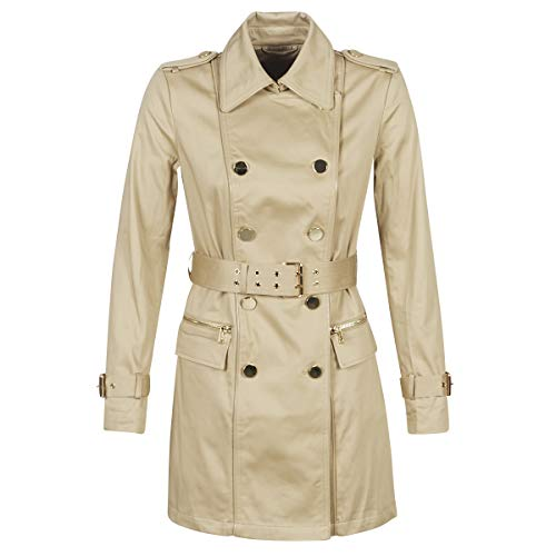 Guess Christina Trench Cappotti Femmes Beige - S - Trench
