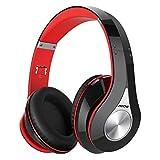 Mpow 059 Cuffie Bluetooth, Cuffie Riduzione di Rumore, Autonomia 20 Ore, Microfono CVC6.0, Cuffie Over-Ear Pieghevole, Fascia Morbida, Cuffie Per Huawei/iPhone/iPad/Samsung/Sony e altri Cellullari/PC