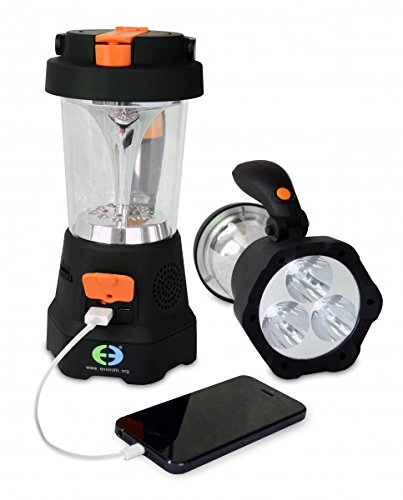 Envirofit Emergency Hand Crank Light (Black)