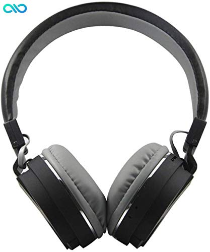 Infinity Marks Exclusive Bluetooth 4.2 Super Bass Headphone with FM, SD Card Slot, Music Modes and Calling Controls(Black)