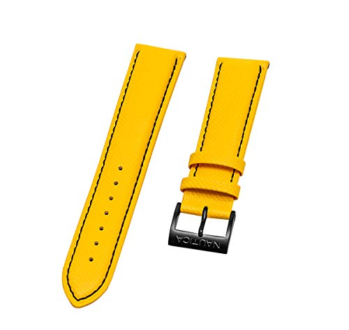 Nautica Men's N20063G | A20063G NST 500 Yellow 22mm Original Replacement Watch Band
