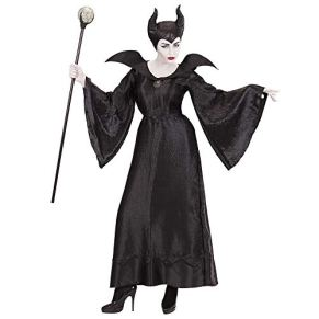 WIDMANN-Disfraz para adultos Malefica, color negro, medium (03702)