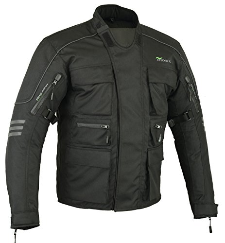 Chaquetas de moto Mens RIDEX CJ1 protección impermeable