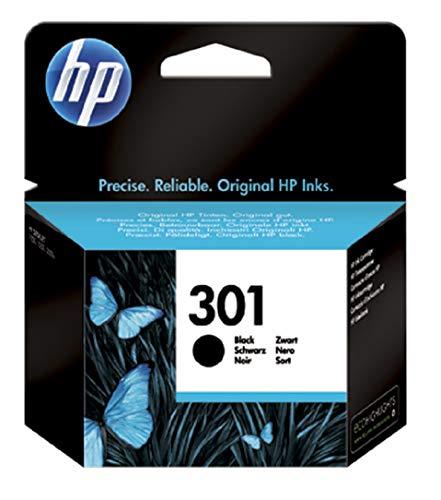 HP 301 Nero CH561EE Cartuccia Originale per Stampanti HP a Getto di Inchiostro, Compatibile con...