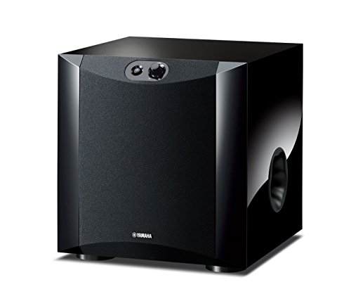 Yamaha NS-SW200 Active Subwoofer (8 Inchs, 130 Watts & Twisted Flare Port)