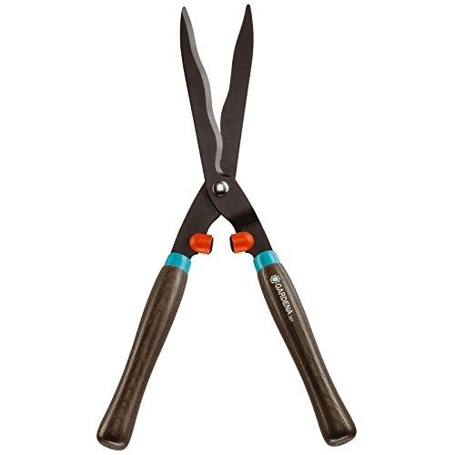Gardena Classic 391-20 - Tijeras para setos 540, robustas tijeras de jardín para podar arbustos, 54cm, cuchillas con afilado ondulado